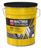 Мастика защитная алюминиевая ТЕХНОНИКОЛЬ № 57