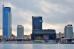Безопасность фасадов отеля DoubleTree by Hilton в Минске выше с каменной ватой ТехноНИКОЛЬ