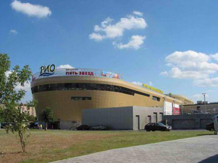 """Торговый Центр  """"РИО """" расположен по адресу: г. Москва, ул. Большая Черемушкинская, 1 Хочу термос с чаем."""