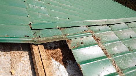 Этап 2. Демонтаж старой гидроизоляции